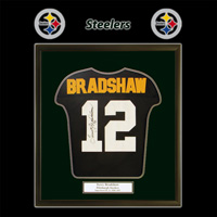 Pittsburgh Steelers Football Framed Jersey Image
